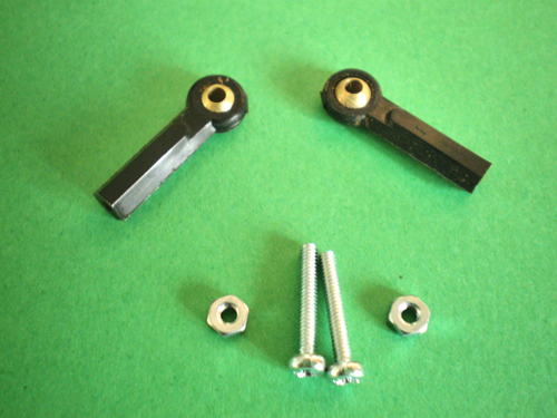 Ball Link Swivel Joint Brass And Nylon With Screws Amp Nuts